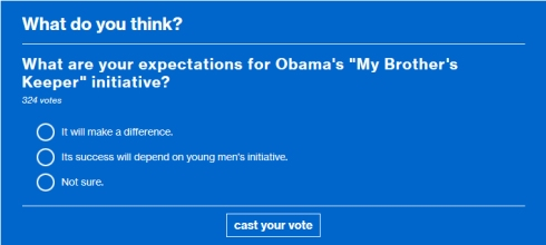 msnbc poll on obama