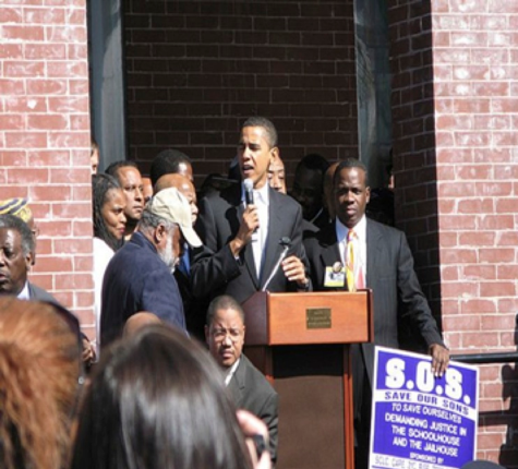 Obama speaks to New Black Panther Party