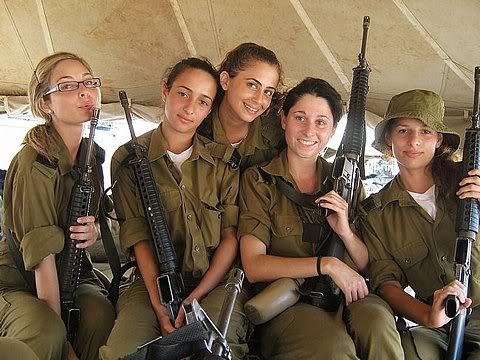 Israelis with guns