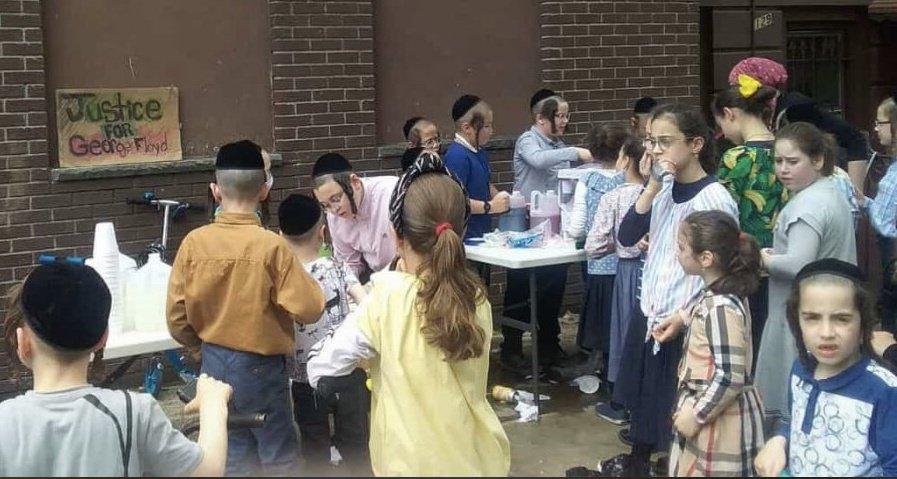 jewish children justice for george floyd